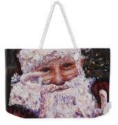 Santa Chat Weekender Tote Bag