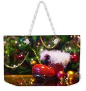 Santa-claus Boot Weekender Tote Bag