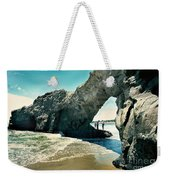 Santa Cruz Beach Arch Weekender Tote Bag