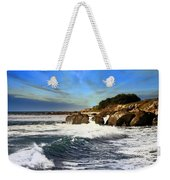 Santa Cruz Coastline Weekender Tote Bag