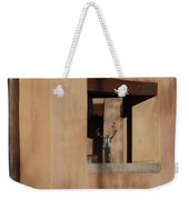 Santa Fe Adobe Window Weekender Tote Bag