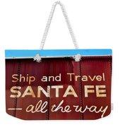 Santa Fe All The Way Weekender Tote Bag