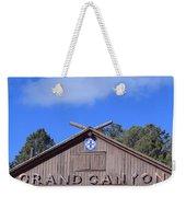Santa Fe At The Grand Canyon Weekender Tote Bag