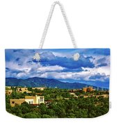 Santa Fe New Mexico Weekender Tote Bag