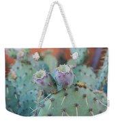 Santa Fe Prickly Pear Cactus Weekender Tote Bag