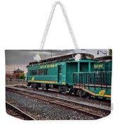 Santa Fe Rail Yard Weekender Tote Bag