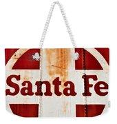 Santa Fe Railway Weekender Tote Bag