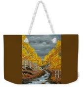 Santa Fe River Aspens Weekender Tote Bag