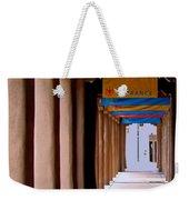 Santa Fe Sidewalk Weekender Tote Bag