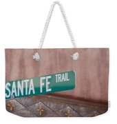 Santa Fe Trail Weekender Tote Bag