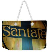 Santa Fe Vintage Sign Weekender Tote Bag