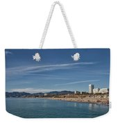 Santa Monica From Pier Weekender Tote Bag