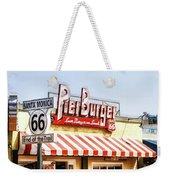 Santa Monica Pier Weekender Tote Bag