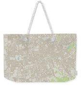 Santa Rosa California Us City Street Map Weekender Tote Bag