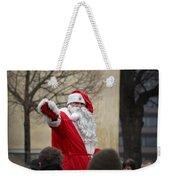 Santa Says Hello Weekender Tote Bag