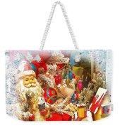 Santa Scene 1 Weekender Tote Bag