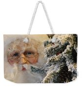 Santa Sees You Weekender Tote Bag