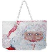 Santa Shhhh Weekender Tote Bag