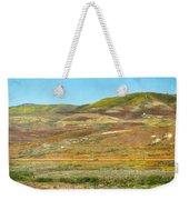 Santa Ynez Mountains Wildflowers Weekender Tote Bag