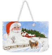 Santas Beard Weekender Tote Bag