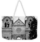Sante Fe Cathedral Weekender Tote Bag