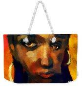 Santia In Orange 726 Weekender Tote Bag