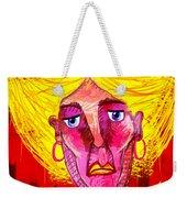 Santia Sour Face 1060 Weekender Tote Bag