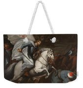 Santiago At The Battle Of Clavijo Weekender Tote Bag