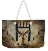 Santo Weekender Tote Bag by Carol Leigh