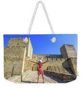 Sao Jorge Castle Tourist Weekender Tote Bag