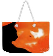 Saphira At Sunset Weekender Tote Bag