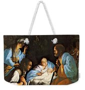 Saraceni Carlo The Birth Of Christ Weekender Tote Bag
