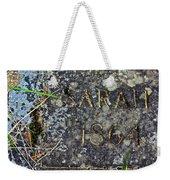Sarah Weekender Tote Bag