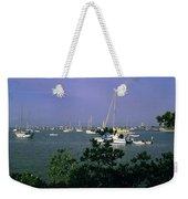 Sarasota Bay Harbor Weekender Tote Bag