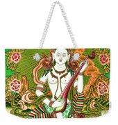 Saraswati 11 Weekender Tote Bag