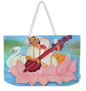 Saraswati Weekender Tote Bag by Shruti Prasad