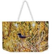 Sardinian Warbler Weekender Tote Bag