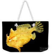 Sargassum Anglerfish Weekender Tote Bag