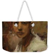 Sargent Study Number 1 Capri Girl Weekender Tote Bag