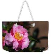 Sasanqua Camellia Weekender Tote Bag