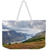 Saskatchewan Glacier In Canada Weekender Tote Bag