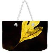 Sassafras Leaf Aglow Weekender Tote Bag
