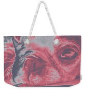 Sassy Red Dog Weekender Tote Bag