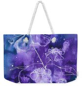 Sassy White Flowers Weekender Tote Bag