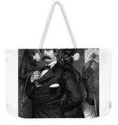 Satan Tempting John Wilkes Booth Weekender Tote Bag
