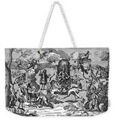 Satan With Cavorting Dancers, 18th Weekender Tote Bag