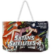 Satan's Satellites Weekender Tote Bag