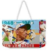 Satchel Paige Weekender Tote Bag by Cliff Spohn