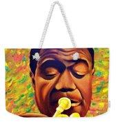 Satchmo, Louis Armstrong Painting Weekender Tote Bag