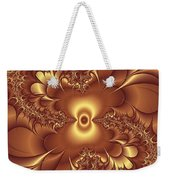 Satin And Lace Weekender Tote Bag